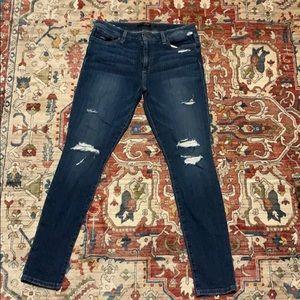 Joes distressed jeans